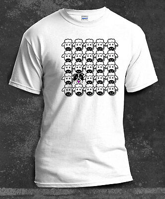 Border Collie Team Obedience HTM Rally O Agility White Unisex T-Shirt Ideal Gift
