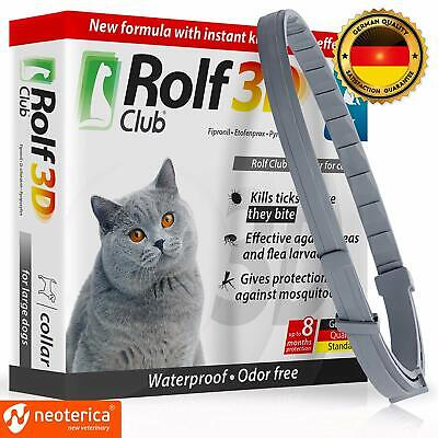 Rolf Club 3D FLEA Collar for Cats - Flea and Tick Prevention for Cats - Cats Fle