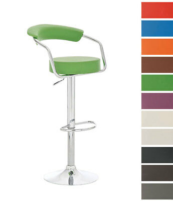 Tabouret De Bar Rglable ITALIA Similicuir Chaise Design Hauteur