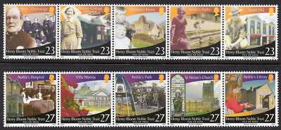 ISLE of MAN MNH 2003 SG1091-1100 Henry Bloom Noble Trust