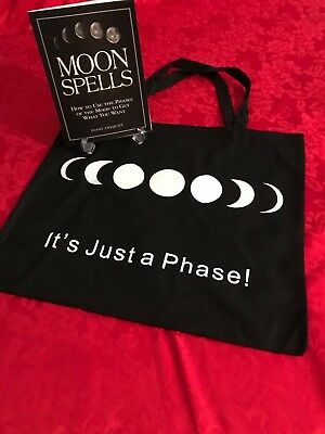 Moon Spells Book and Tote Bag by Author Diane Ahlquist