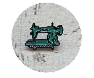 Sewing Machine Soft Enamel Lapel Brooch collectible gift For Seamstress