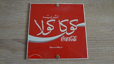 RARE Ande Rooney Porcelain Enameled Advertising Sign! Vintage Coke Collectible