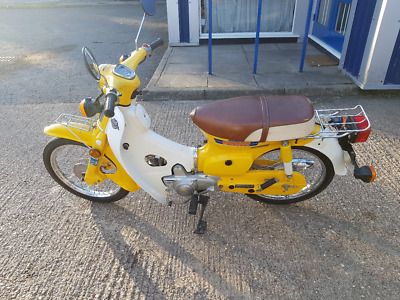 Honda C70 Passport 1981 With  1564 original Miles 12 Months MOT