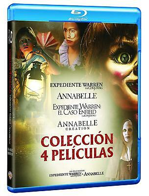 Conjuring + Annabelle + Creation + Expediente Warren Nuevo ( Sin Abrir ) Pack 4
