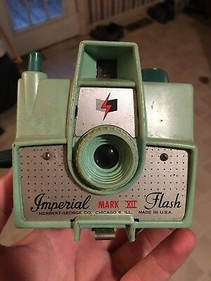 Vintage Imperial Mark XII Film Camera Herbert George Green 1950s Girl Scouts