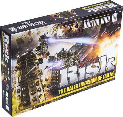 Doctor Who - Risk: The Dalek Invasion of Earth Board Game