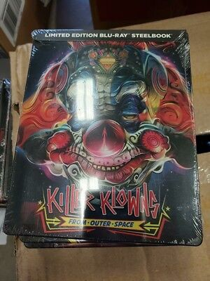 Killer Klowns from Outter Space - Limited Edition Best Buy Steelbook (Blu-ray)