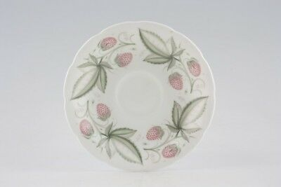 Susie Cooper - Wild Strawberry - Wavy Edge - Tea Saucer - 174311G