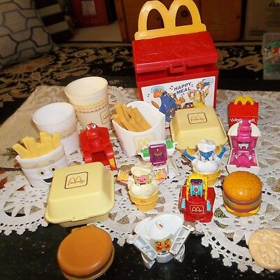 Vintage 1988-89 McDonalds Fisher Price/Happy Meal Food~Transformers~Happy Meal