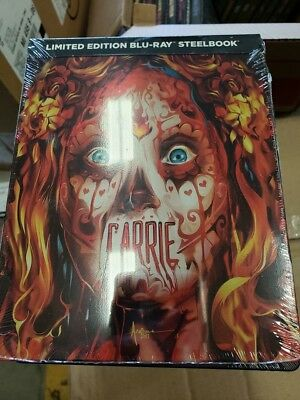 Carrie - Limited Edition Best Buy Steelbook (Blu-ray) BRAND NEW!!