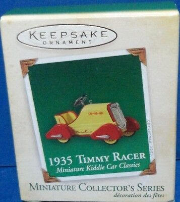 2005 Timmy Racer Hallmark Retired Miniature Series Ornament