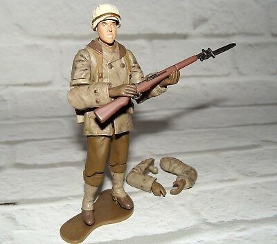 1:18 Ultimate Soldier WWII U.S Army Infantry PFC Private Battle of Bulge Figure