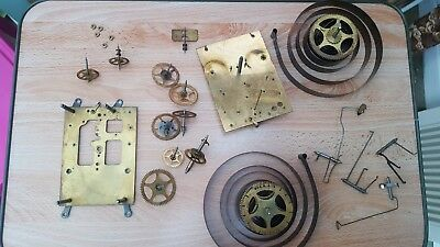Antique Clock Movement Wm Gilbert USA ..  Spares or Repairs