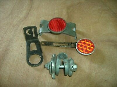 Joblot Of Old Vintage Cycle Parts And Spares,