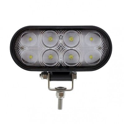 8 Led Oval Wide Angle Driving/Working Light