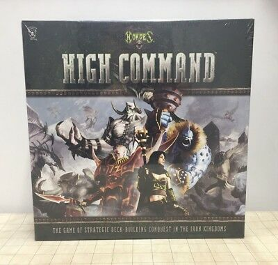 Hordes High Command Deck Building Game