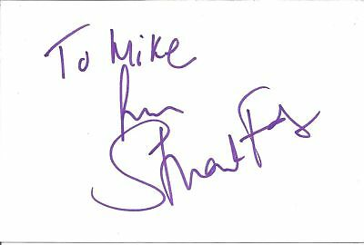 Stuart Fox signed card autograph English actor Star Wars Return of the Jedi