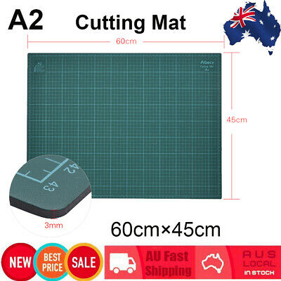 """18""""x24"""" Green Self Healing Double-Sided 5-Ply Durable PVC Paper Cutting Mat M1X8"""