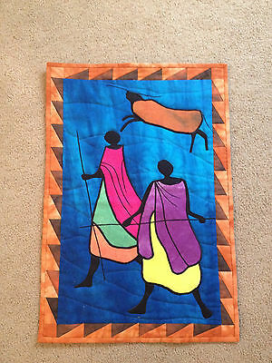2001 Margaret Letts Signed South African Quilt Serene Dynasty Days