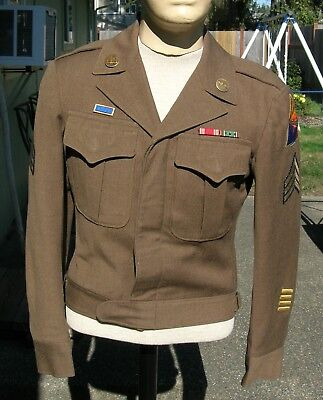 WWII 4th Armored Division Ike Jacket