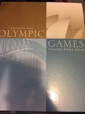 Ltd Edt Sydney 2000 Olympic Games Prestige Stamp Album - Rare!