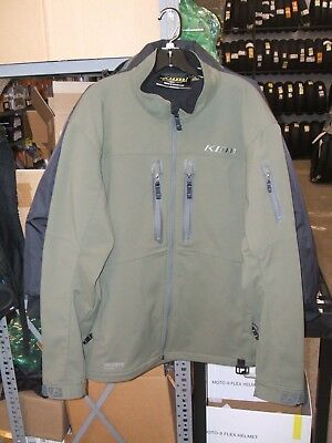 Klim Inversion Jacket Olive Army Green And Gray Extra Large Xl Closeout