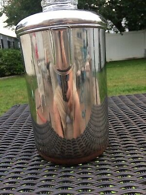 Vtg Revere Ware Copper Clad Stainless 8 Cup Coffee Pot PERCOLATOR / Perculator