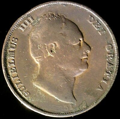 Great Britain 1831, Penny KM# 707