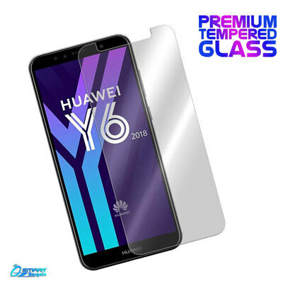 Tempered Glass Screen Protector Guard For Huawei Y6 2018 / Y6 2017 / Y6 Elite 4G