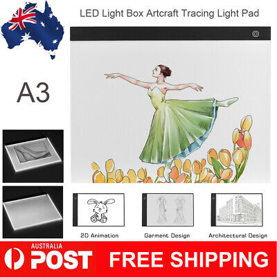 A3 Large-size Light Box LED Artcraft Tracing Light Pad Stepless Dimming AU
