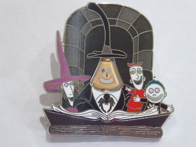 Disney Trading Pin Nightmare Before Christmas 25 Years of Fright Mayor, Lock, S