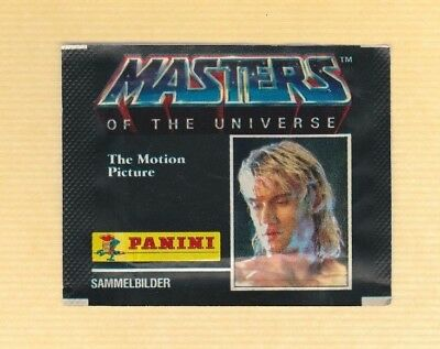 1987  Vintage Panini Masters of the Universe Stickers Unopened Pack