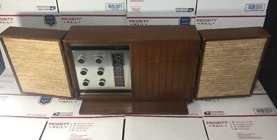 RARE Vintage General Electric Stereophonic Tube T1000-C Table Radio - READ FULLY