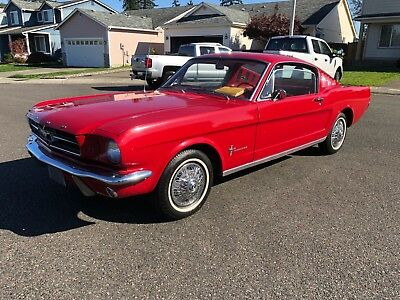 1965 Ford Mustang FASTBACK 2+2 1965 Ford Mustang Fastback 2+2 ORIGINAL OWNER FOR 50+ YEARS NO RESERVE