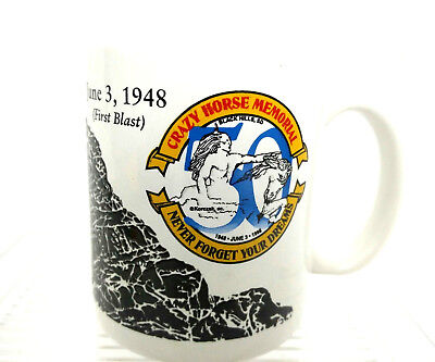 Linyi Crazy Horse Memorial Never Forget Your Dreams June 3, 1948 1st Blast Mug