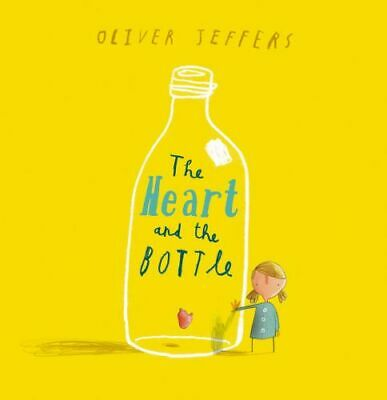 NEW The Heart and the Bottle By Oliver Jeffers Paperback Free Shipping