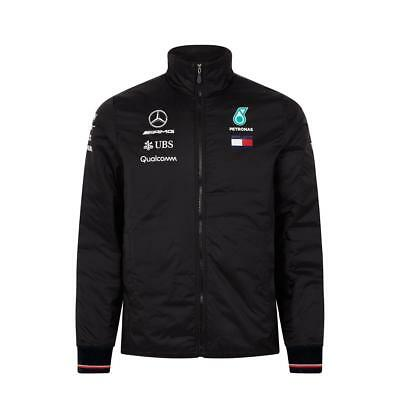 2018 Mercedes AMG F1 Team Lightweight Jacket Coat MENS Hamilton – New OFFICIAL