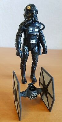 """6"""" Inferno Squadron -The Black Series-  Figur + Mini Special Forces Tie Fighter"""
