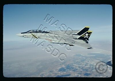 35mm Kodachrome Aircraft  Slide - F-14A Tomcat BuNo Unk AJ200 VF-84 in Jan 1981