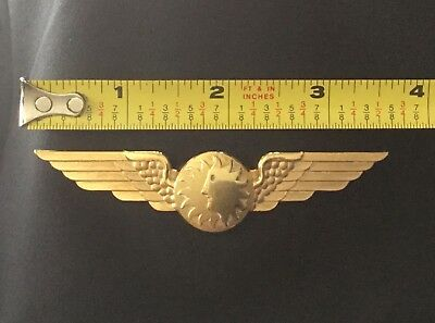 Vintage National Airlines Pilot Wings NAL Logo