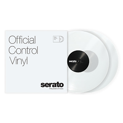 "Serato Standard Colors (Pair) - Clear 12"" Control Vinyl"