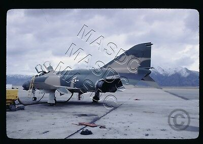 35mm Kodachrome Aircraft Slide - F-4D Phantom 65-0620 IRAN @ Hill AFB - Jan 1969