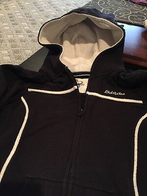 Limited Too Black Hooded Girls Size 16 Hooded Jacket Good Condition