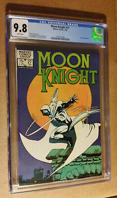Moon Knight #27 1st Print Frank Miller Cover Kingpin Appearance CGC 9.8 NM+/M
