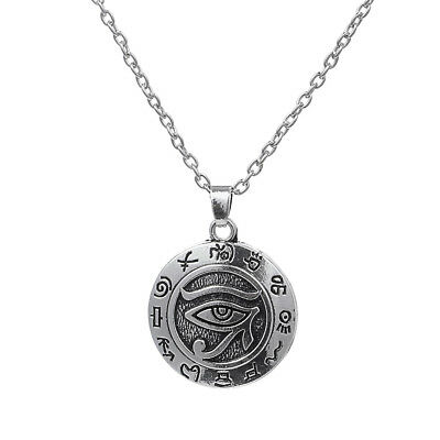 Eye of Horus Pendant Neclace Ancient Egyptian Religions Amulet Talisamn Jewelry
