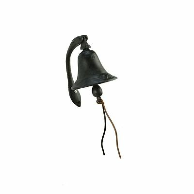 Cast Iron Logan Dinner Bell with Bracket Free Shipping