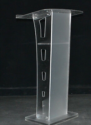 Plexiglass Conference Pulpit Acrylic Podium Clear Church Lectern Pulpit Office