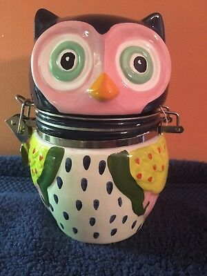 Brand New OWL Canister! Cute! LOOK!!'
