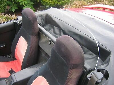 Windblox 1998-2004 Mazda Miata Wiindscreen Wind Deflector Windblocker Windstop